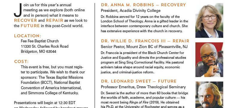 North American Baptist Fellowship Annual Meeting